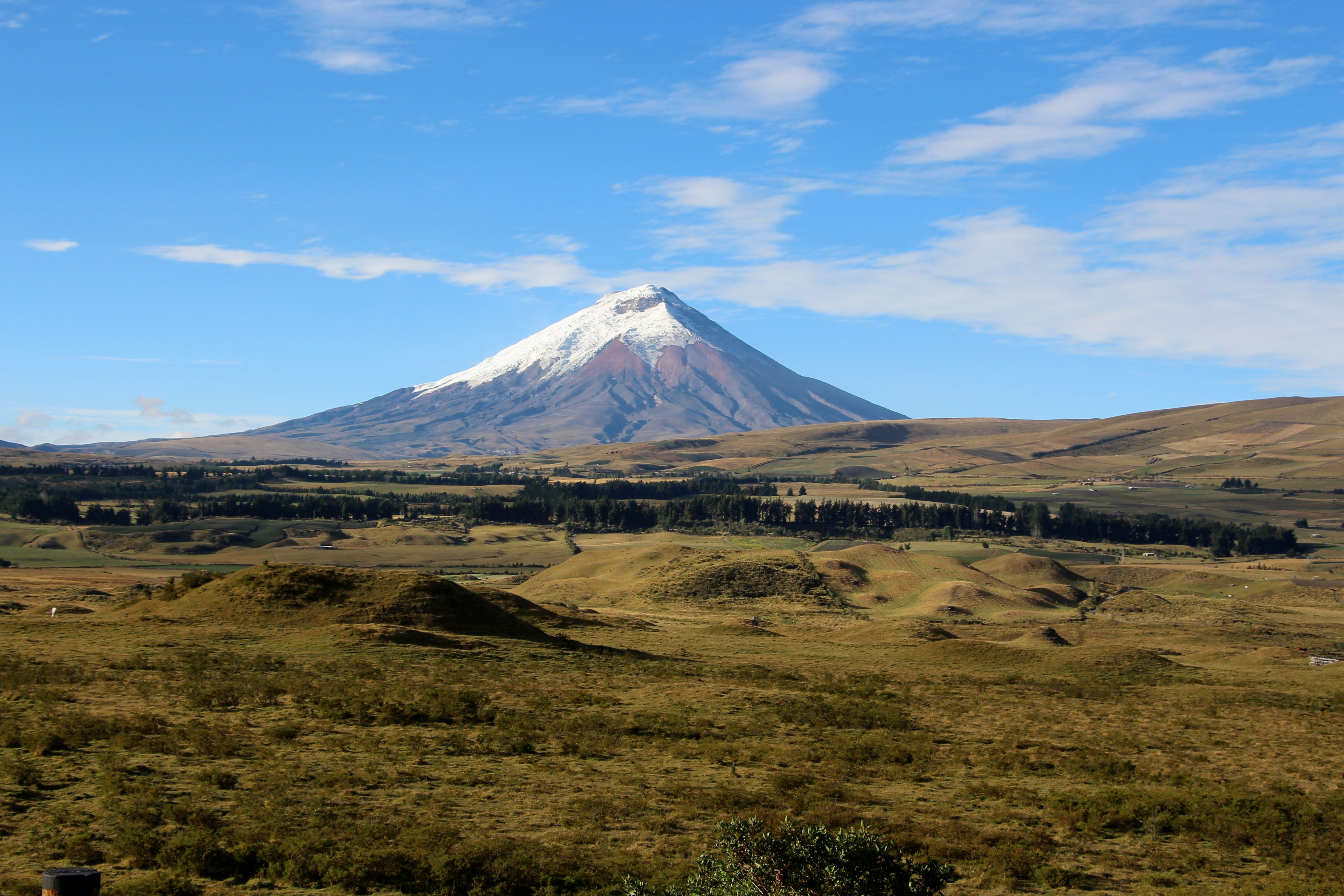 Cotopaxi clear day