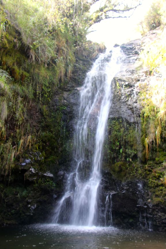 Cotopaxi waterfall