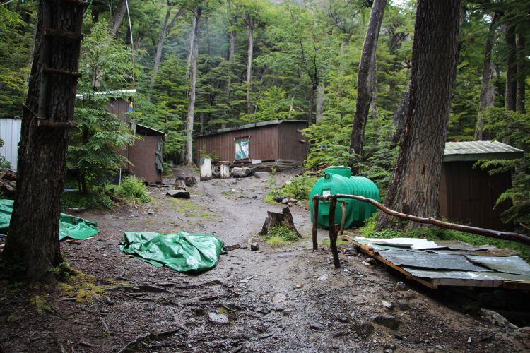 Paso campsite
