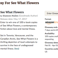Goodreads eBook Giveaway for US Residents